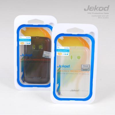 Ochranné silikonové pouzdro JEKOD TPU pro Alcatel OT983 bílé