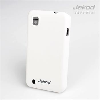 Plastové pouzdro JEKOD Super Cool pro ZTE Blade 3 bílé