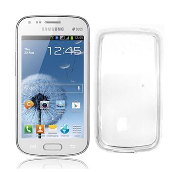 TPU pouzdro CELLY Gelskin pro Samsung Galaxy S Duos, bezbarvé