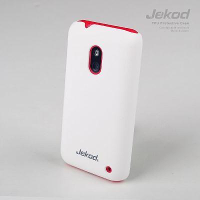 Ochranné plastové pouzdro JEKOD Super Cool pro Nokia Lumia 620 bílé