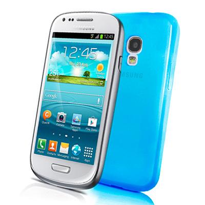 CELLY Gelskin, silikonové pouzdro pro Samsung i8190 Galaxy SIII mini sv. modré