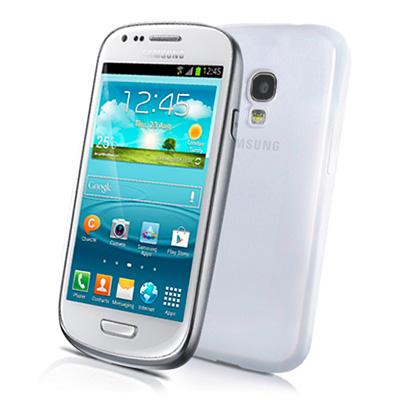 CELLY Gelskin, silikonové pouzdro pro Samsung i8190 Galaxy SIII mini průsvitné