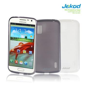 Silikonové pouzdro JEKOD TPU Samsung Galaxy Premier i9260 bílé