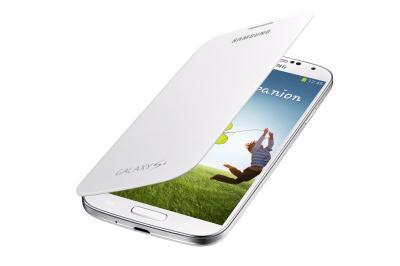 Originální pouzdro na Samsung Galaxy S4 EF-FI950BWEG bílé