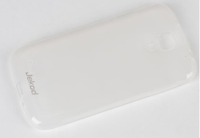 Silikonové pouzdro Samsung Galaxy S4 i9500/ i9505 JEKOD TPU bílé