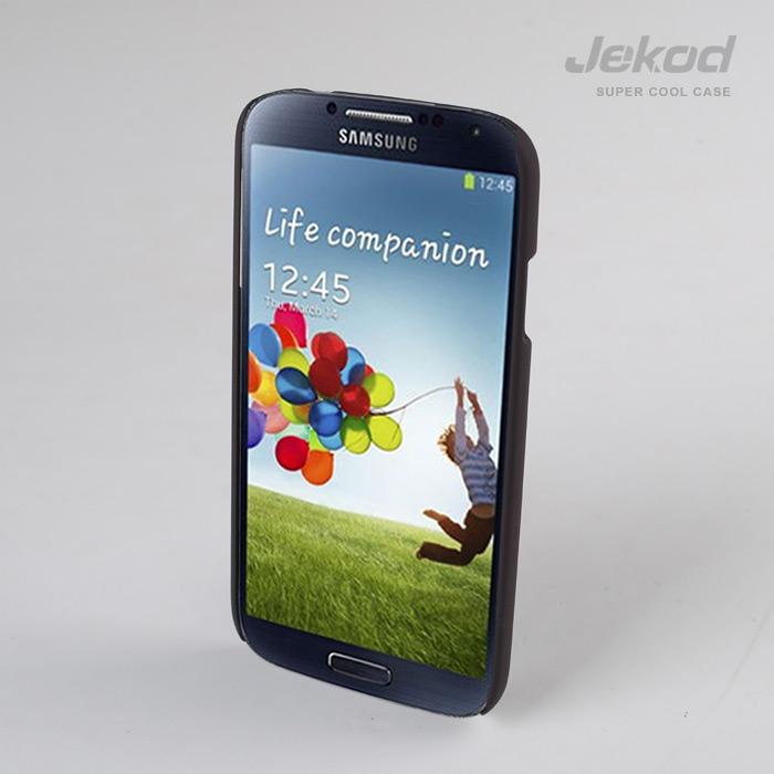 Ochranné plastové pouzdro Samsung Galaxy S4 i9500 / i9505 JEKOD Super Cool hnědé