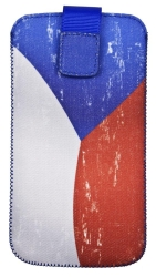 Pouzdro Fresh FLAG CZE vel. Galaxy S5 G900 (150x80x10mm)