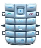 Klávesnice pro Nokia 6020/6021 Silver