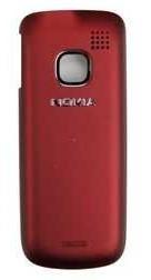 Zadní kryt baterie pro Nokia C1-01, red - VÝPRODEJ!!