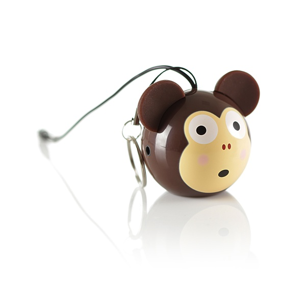 Reproduktor KitSound mini Buddy Monkey - jack 3,5mm