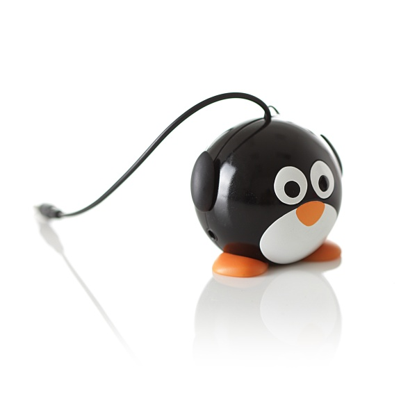 Reproduktor KitSound mini Buddy Penguin 3,5 mm jack
