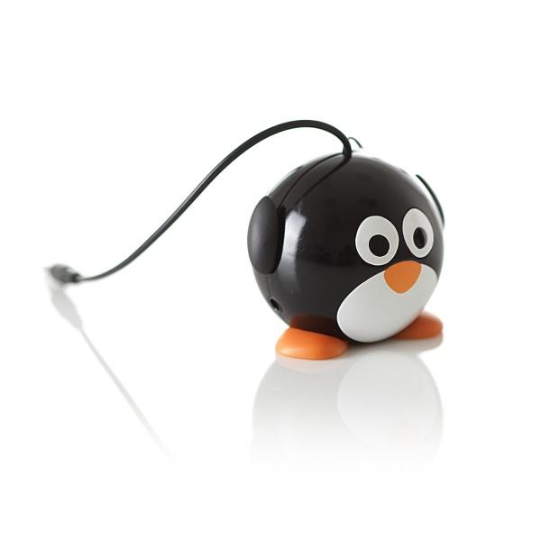 Reproduktor KitSound mini Buddy Penguin 3,5 mm jack