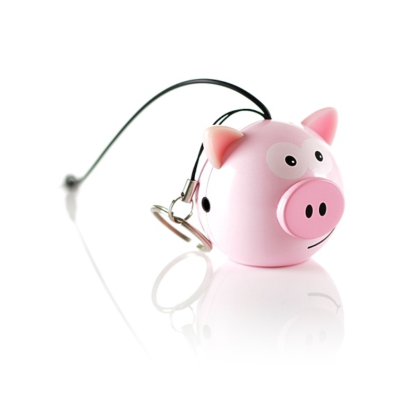 Reproduktor KitSound mini Buddy Pig - jack 3,5mm