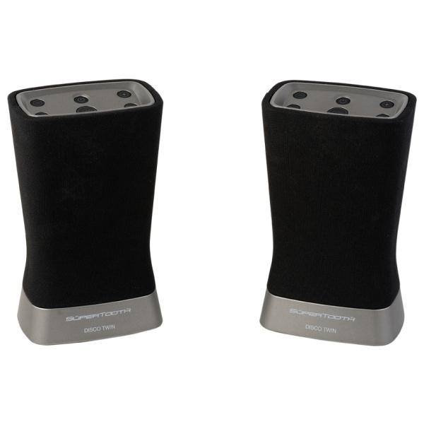 Bluetooth reproduktory SUPERTOOTH Disco Twin, černé