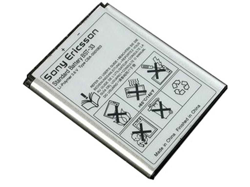 Sony Ericsson BST-33 baterie 950mAh Li-Pol (Bulk)