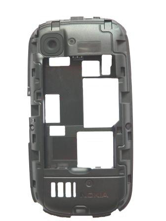 Housing Nokia Asha 200 střední díl (kryt)