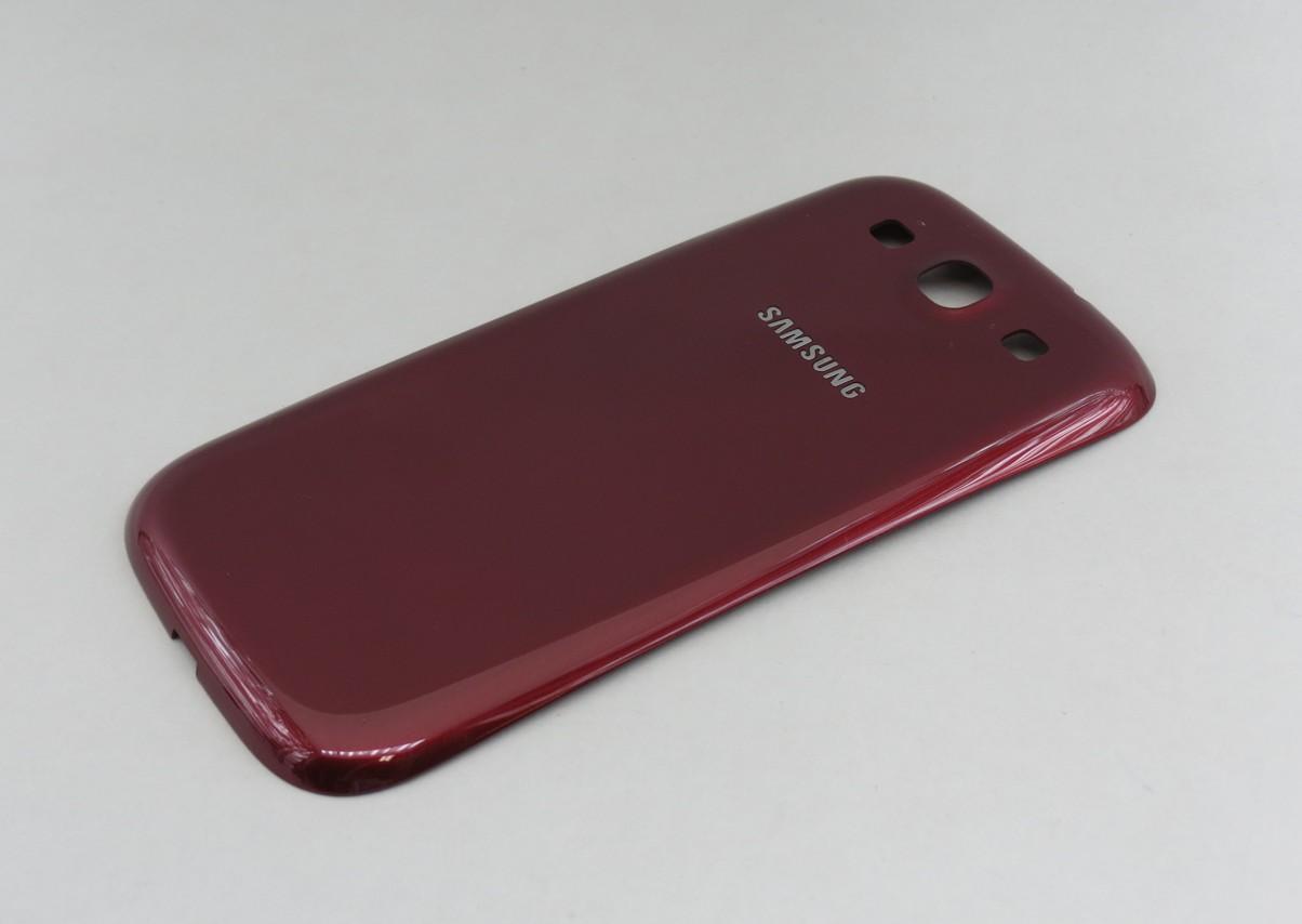 Zadní kryt baterie pro Samsung i9300 Galaxy S3, Garnet Red