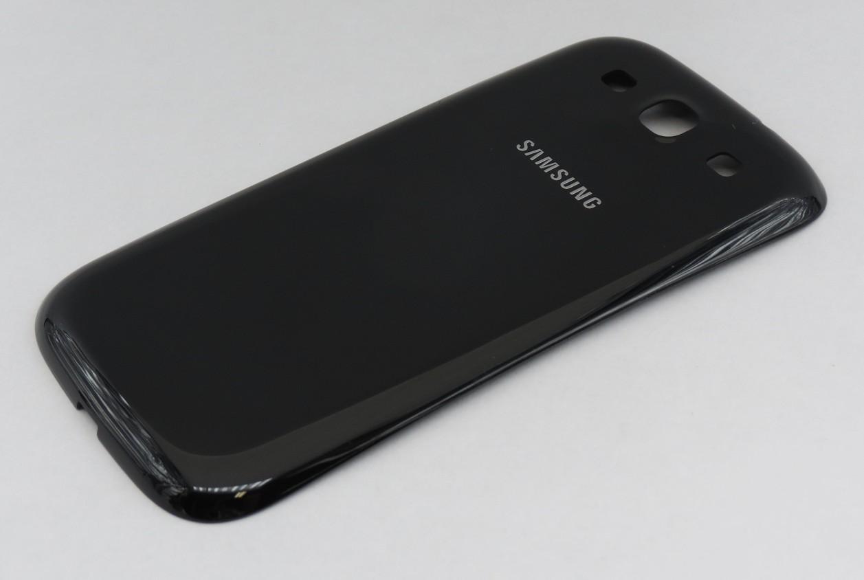 Zadní kryt baterie pro Samsung i9300 Galaxy S3, Sapphire Black