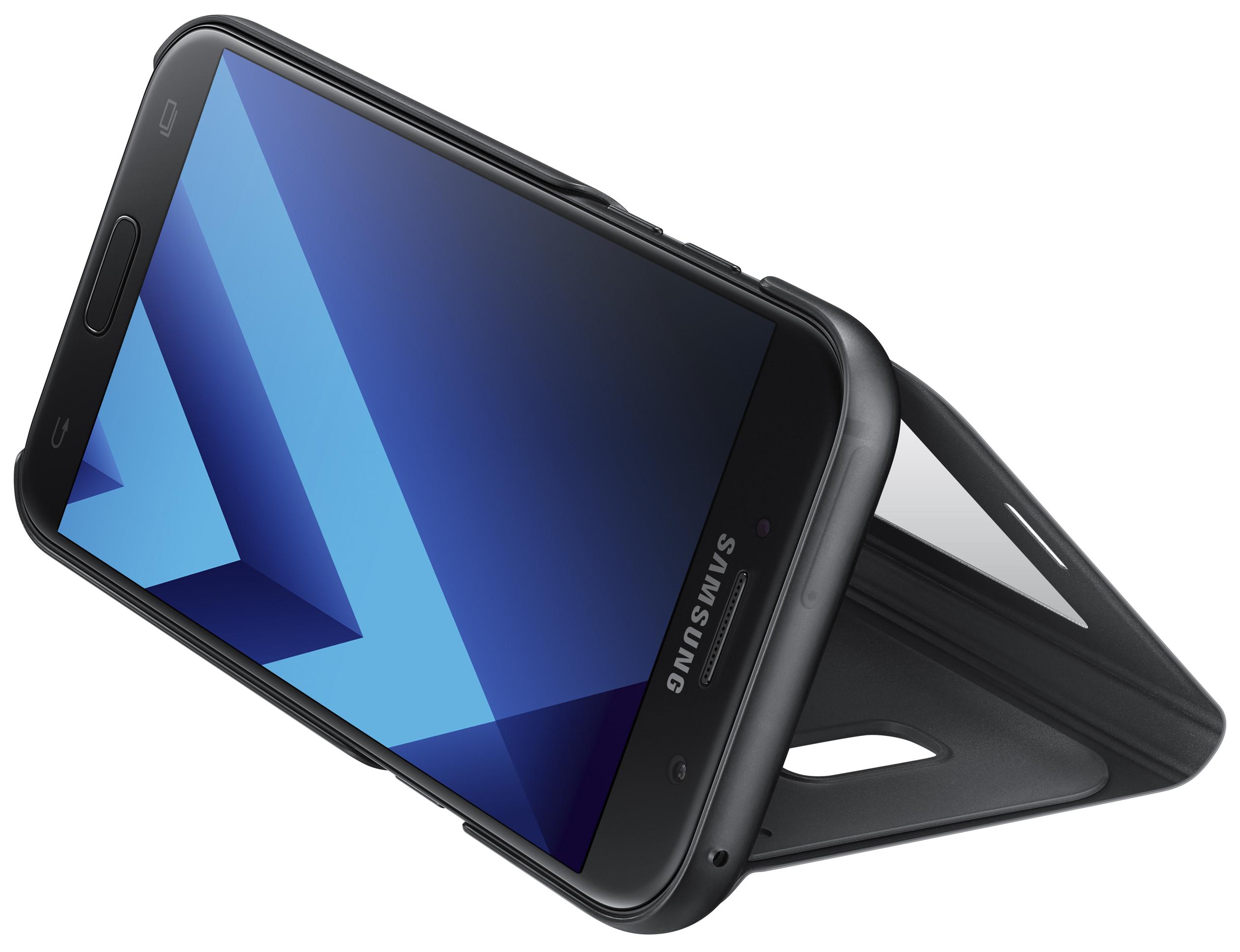 Samsung Flipové pouzdro S View pro A5 2017 Pink