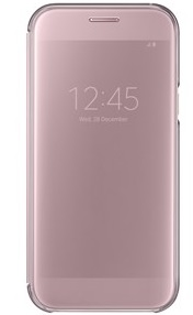 Samsung Clear View Cover pro A5 2017 Pink