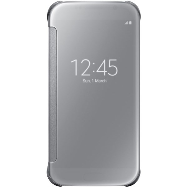Samsung Clear View Cover pro A5 2017 Silver