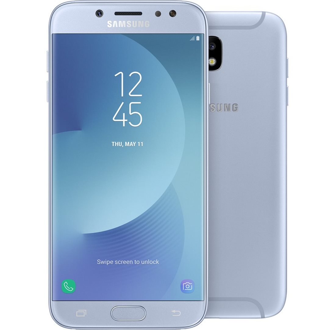 samsung galaxy j5 2017 sm j530 silver blue samsung. Black Bedroom Furniture Sets. Home Design Ideas