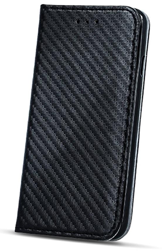 Flipové pouzdro Smart Carbon pouzdro Samsung Xcover 3 (G389) Black
