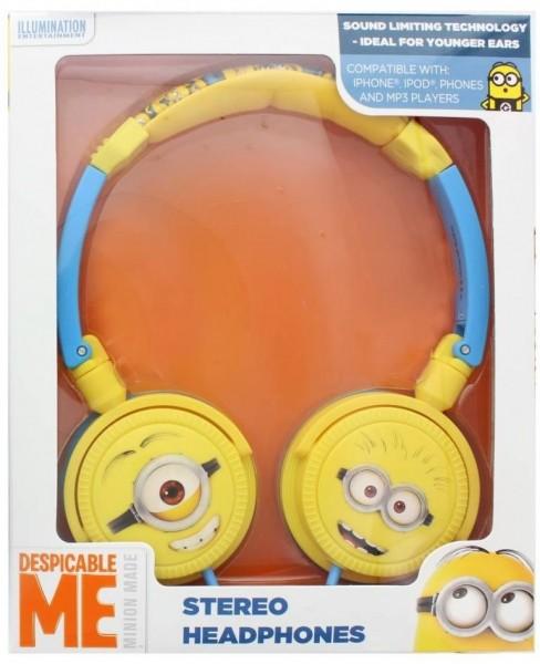 Dětská sluchátka Despicable Me Minions (Mimoni), 3,5 mm