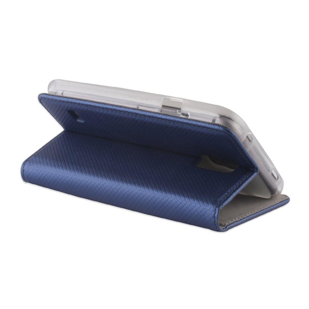Smart Magnet flipové pouzdro LG K8 (K350) Dark Blue