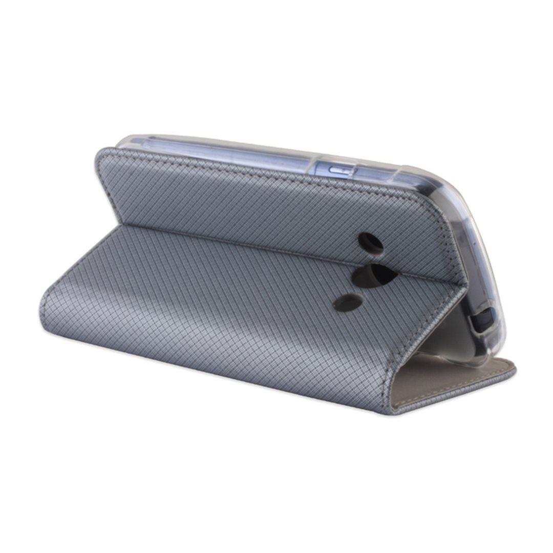 Smart Magnet flipové pouzdro LG K10 (K420) Steel