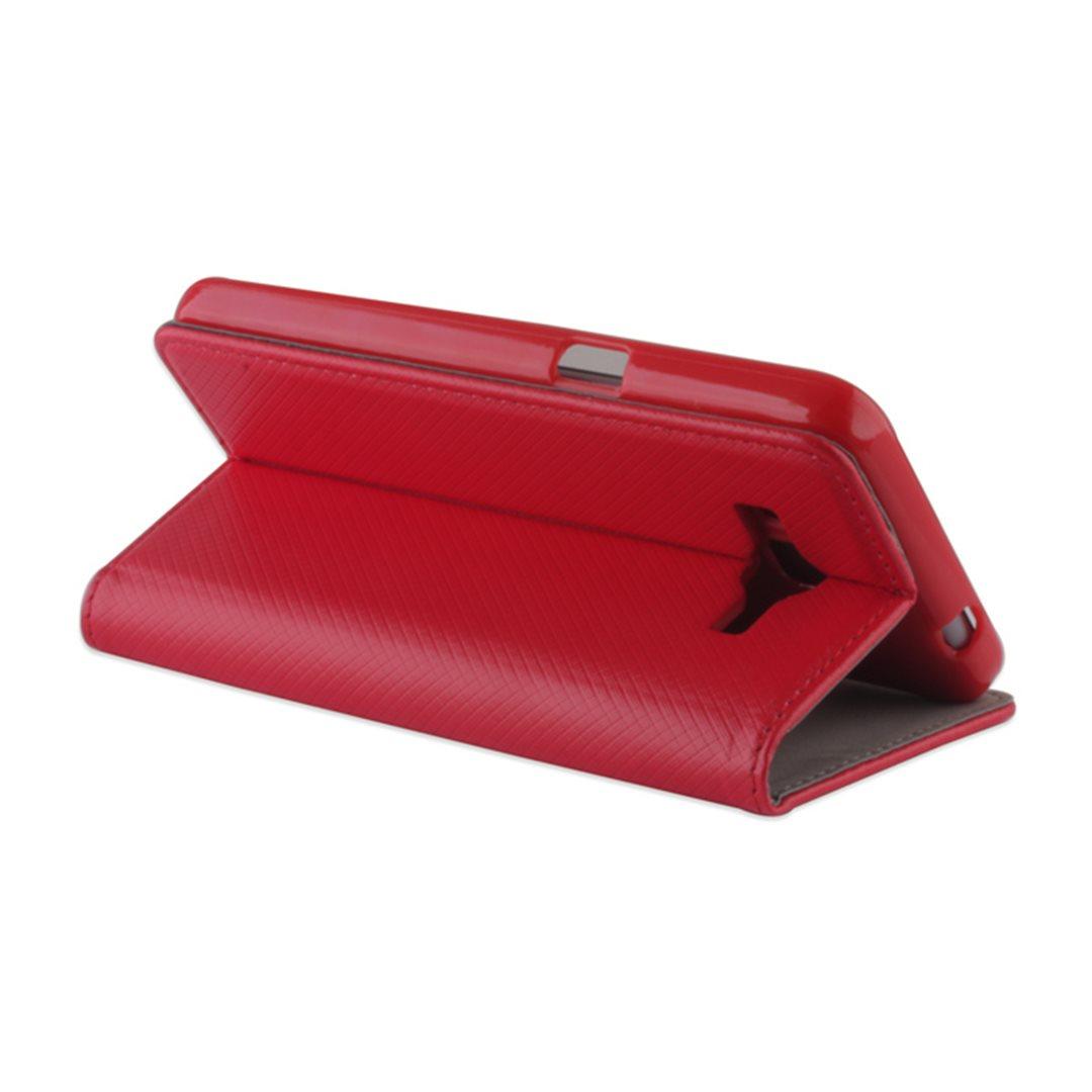 Smart Magnet flipové pouzdro LG K10 (K420) Red