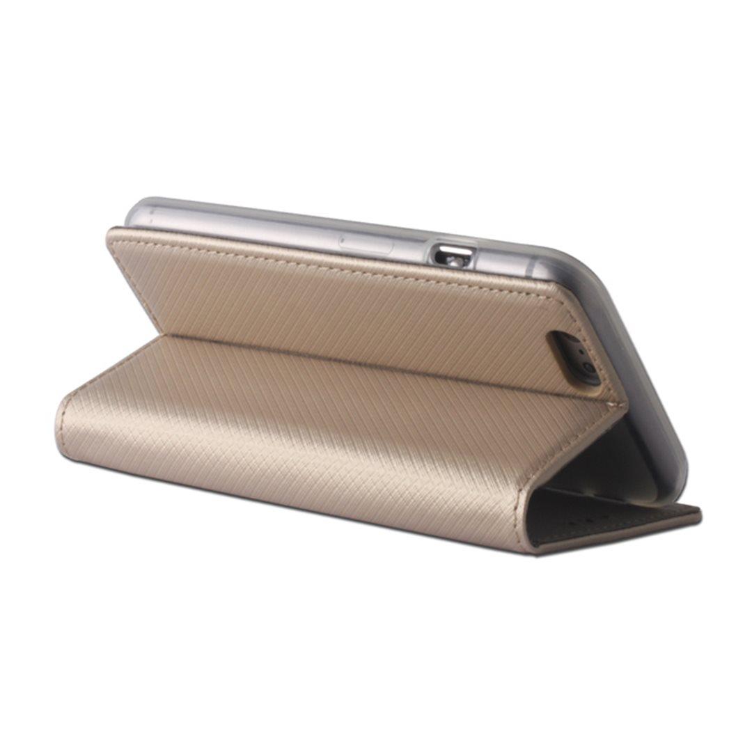 Smart Magnet flipové pouzdro LG K10 (K420) Gold