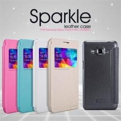Flipové pouzdro na mobil Honor 5X Nillkin Sparkle S-View černé
