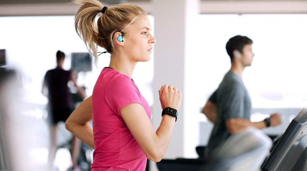 TomTom GPS hodinky Spark Fitness (S), Violet