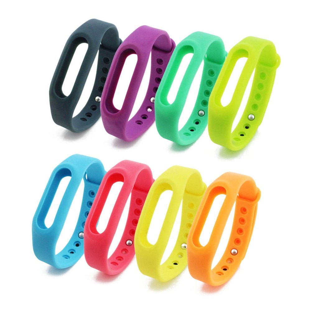 Xiaomi Miband Replacement Color Band Black (without chip-plate)