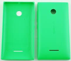 Zadní kryt baterie na Nokia Lumia 435 zelený